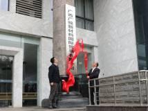 广西广投新材料国际贸易有限公司举行揭牌仪式