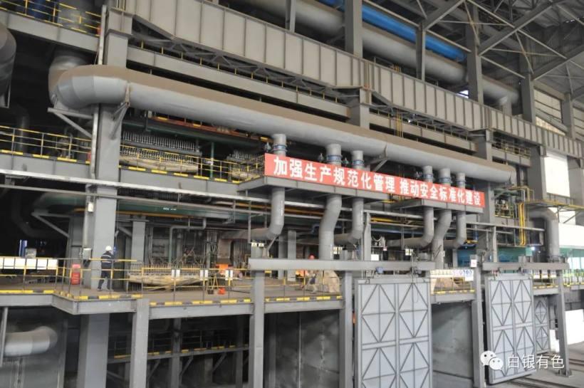 白銀有色銅業公司首季利潤大增87%