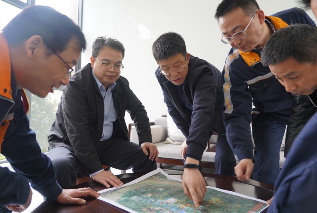 中鋁集團總經理劉祥民到西南鋁調研