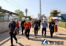 國家珠江委到易門銅業進行節水型企業復核