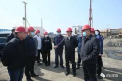 葫芦岛市委常委、副市长张明谦来葫芦岛有色调研