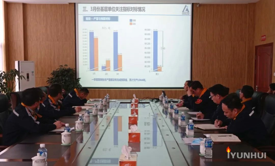 抚顺铝业召开4月份全要素对标专项工作会议