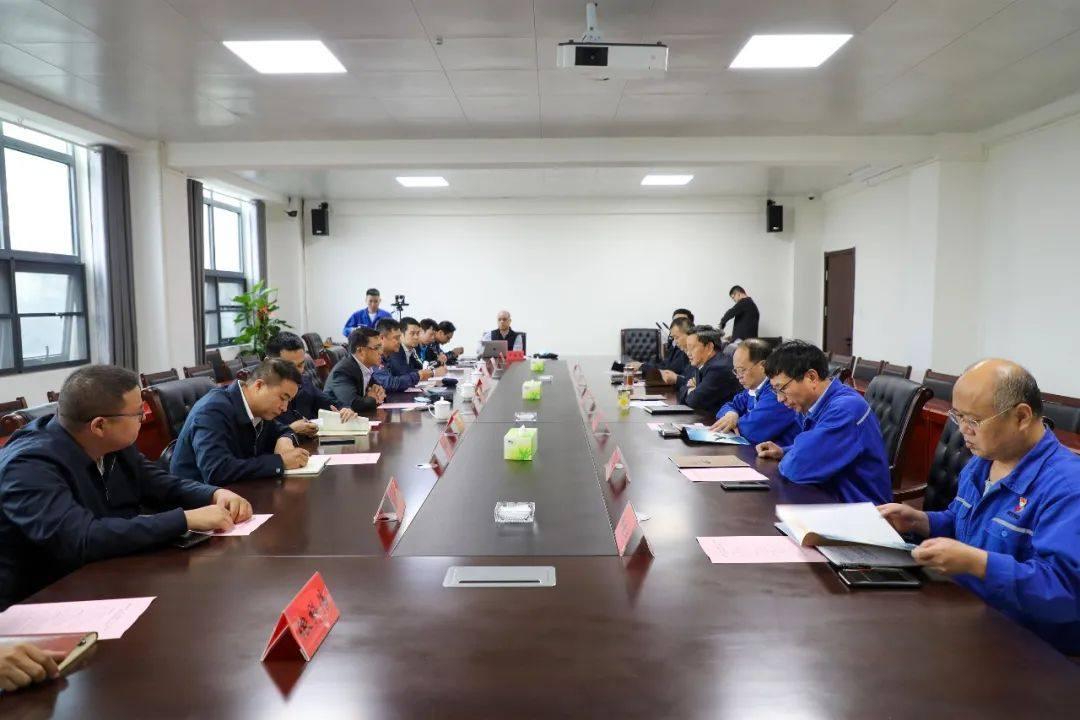 南都铝业集团、日本三井物产(广州)到云南神火考察交流