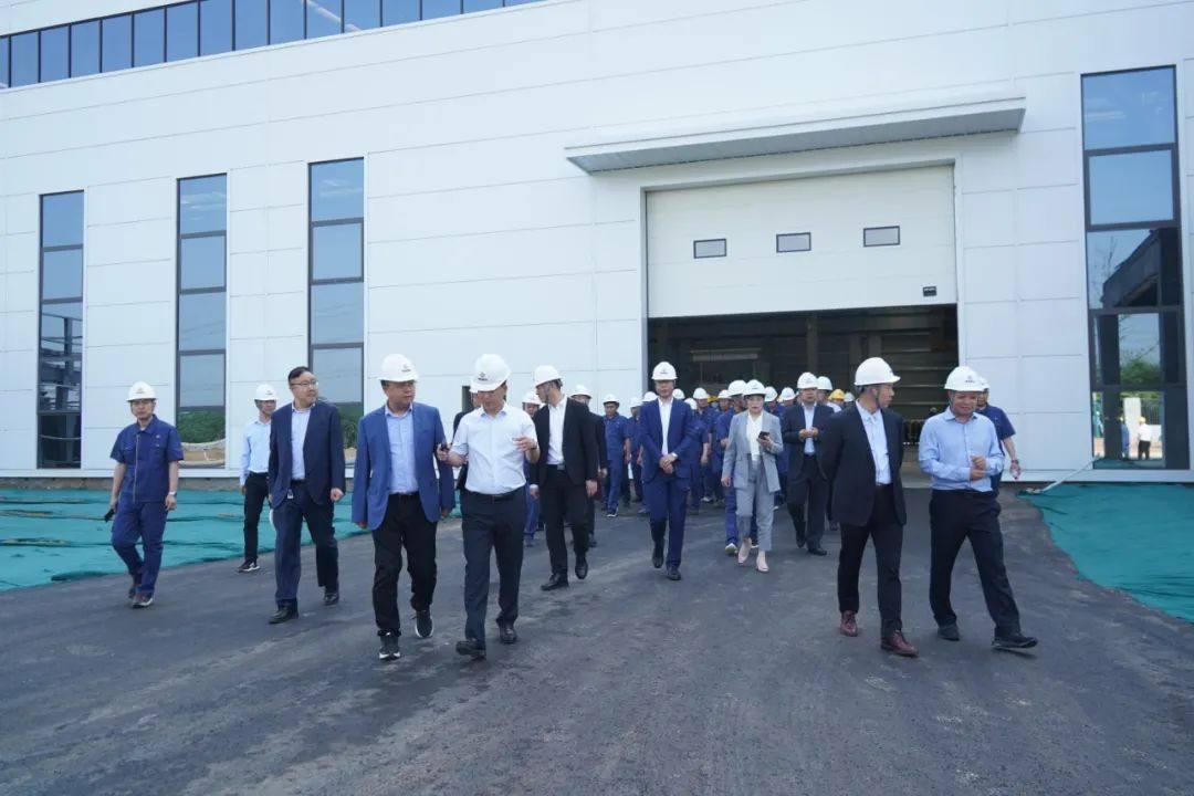 河南明晟新材料科技有限公司投产启动仪式隆重举行