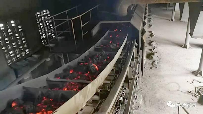 宏跃集团铅锌厂供料、烧结、制酸系统完成系统检修工作并顺利投料生产