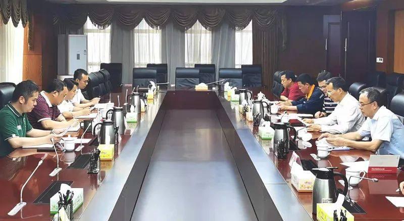 中铝股份广西分公司黄卫平到自治区林业局洽谈工作