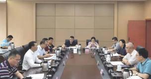 中铝股份广西分公司黄卫平到自治区自然资源厅洽谈工作