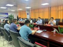 河南省人社厅调研组一行到明泰铝业调研