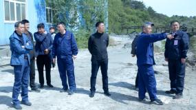辽宁省应急管理厅领导到八家矿业检查指导尾矿库综合治理和防汛工作