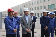 甘肃省科技厅厅长张世荣到酒钢调研