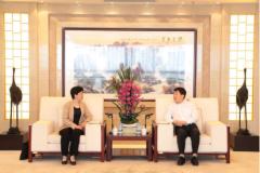 中国有色集团董长清总经理会见山东临清市市长祁学兰一行