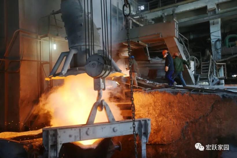 宏跃集团铅锌厂2021年系统检修圆满收官全面投入生产
