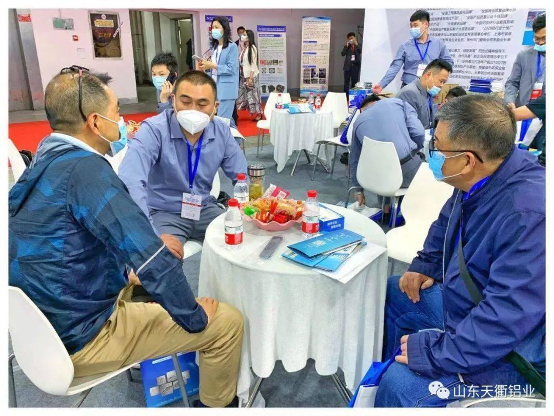 郑州国际铝工业展圆满落幕,天衢铝业展位客商云集