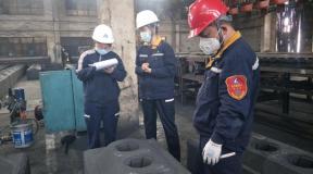 国家轻金属质量监督检验中心到中铝青海分公司开展上半年产品监督抽查工作