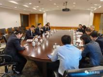 宏跃集团总经理于恩沅一行到上期所、上金所开展交流合作