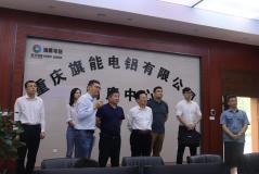 宗申集团常务副总裁李耀一行到旗能电铝参观交流