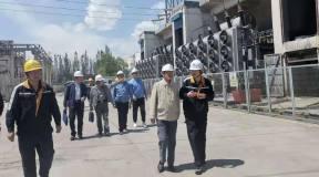 国家能源局西北监管局副局长王占元一行到中铝青海分公司开展专项督查