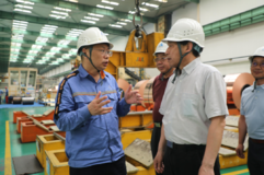 中国有色金属工业协会副会长王健调研华中铜业