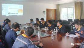 郑州研究院专家到中铝股份广西分公司炭素厂开展技术交流