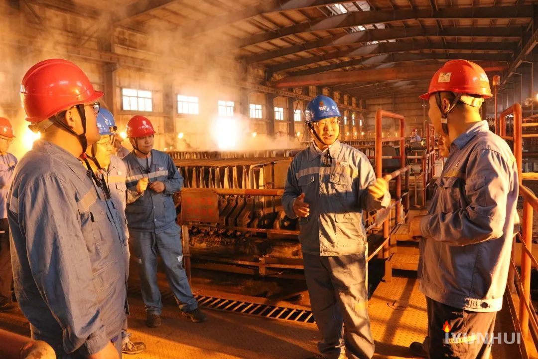 山西省有色金属行业协会会长郭威立到国家电投山西铝业调研交流