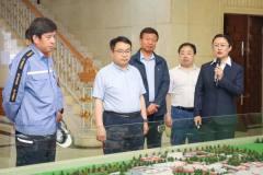 黑龙江省工信厅副厅长王雪峰一行到中铝东轻调研