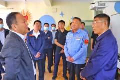 哈尔滨市委副书记、市长孙喆到中铝东轻调研