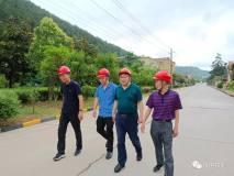 汉中锌业公司总经理王正民到特材公司调研
