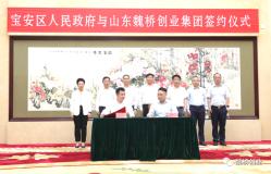 """""""世界500强""""山东魏桥创业集团将在宝安中心区建深圳总部"""