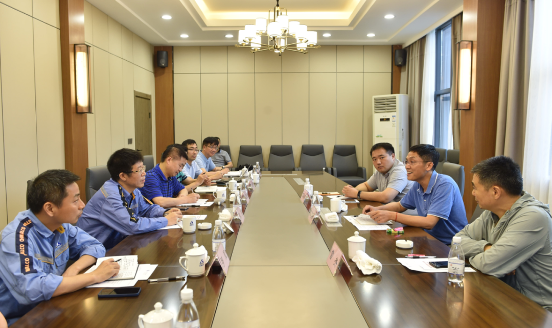 中铝西南铝总经理黎勇会见钢铁研究总院副院长陈思联