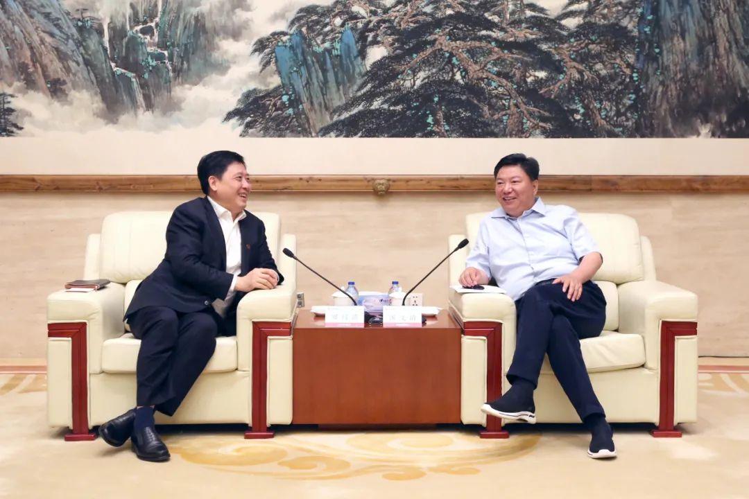 中国五矿与江铜集团深化合作