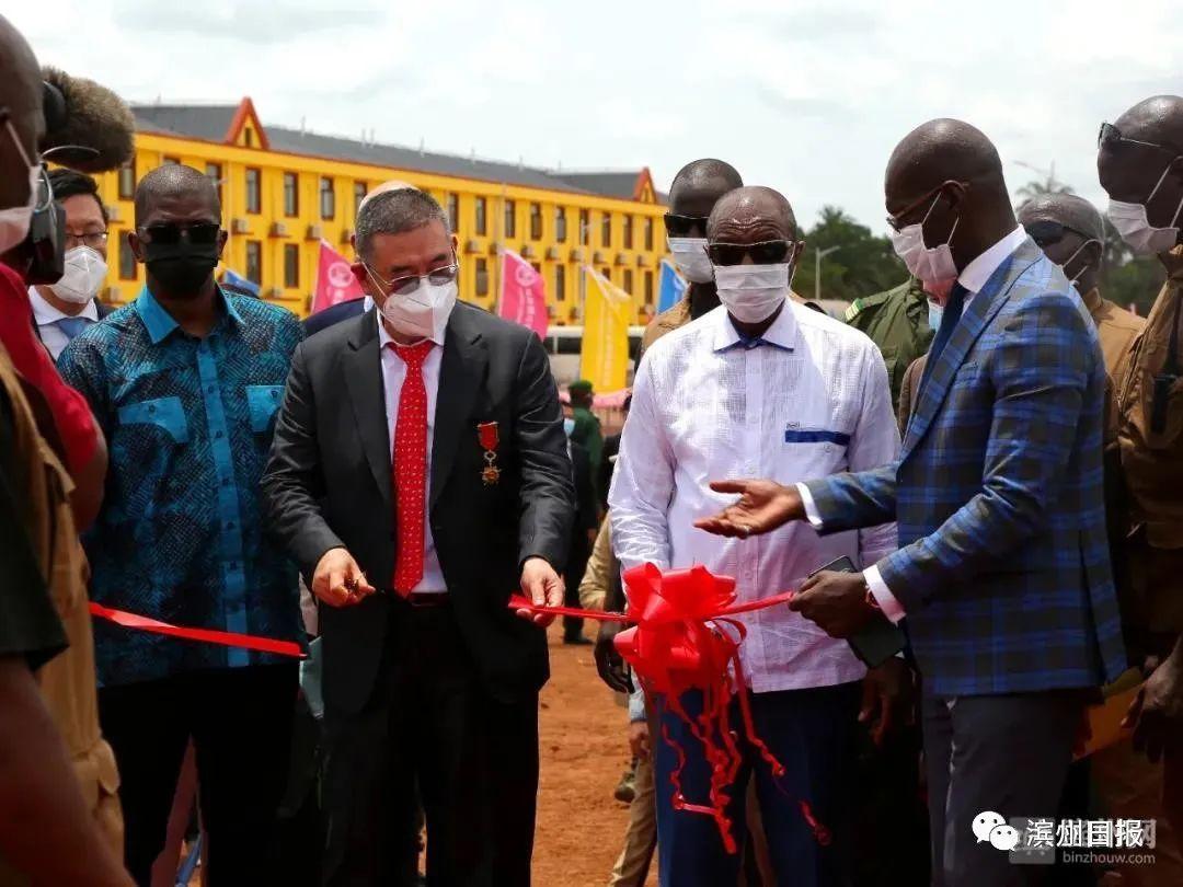 事关滨州铝产业 赢联盟几内亚达圣铁路通车