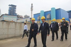 陕西省政府张军林副秘书长一行莅临陕西锌业公司调研督导工作