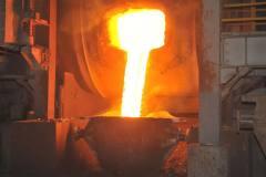 中冶铜锌山达克产出锅炉大修后第一炉铜
