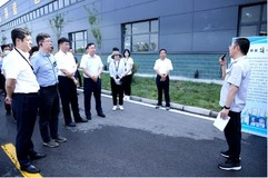 河南省生态环境厅领导莅临安阳高晶铝材公司调研