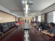 上海期货交易所专家到五鑫铜业进行实地调研座谈