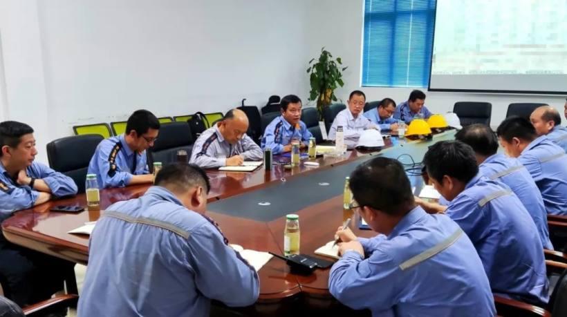 云南铜业副总经理史谊峰到东南铜业熔炼厂、精炼厂调研