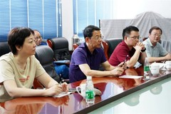 江铜集团公司副总经理陈羽年到江铜铅锌公司调研指导工作