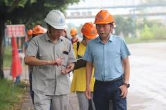 红河州商务局副局长陈刚到云锡铜业调研