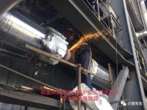 白银有色铜业公司机修车间齐心协力打好检修攻坚战