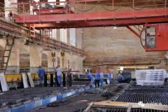 白银有色铅锌厂109系统全员行动忙检修