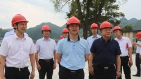 河池市委书记秦春成到华锡集团高峰公司新选厂调研