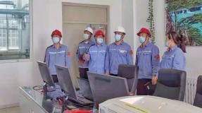 中铝东轻总经理张荣旺到东轻生产保障中心、龙翔包装公司、安环保卫部调研