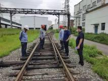 撫順市交通局副局長安良東一行到撫鋁檢查道路運輸安全生產工作