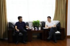 国家电投铝电公司董事长冯建清会见王伟、杨春燕