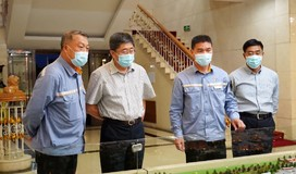 黑龙江省委常委、哈尔滨市委书记王兆力到东轻调研