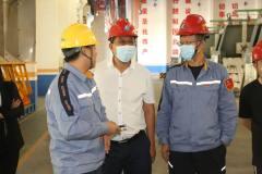 新华社内蒙古分社社长于长洪调研采访包头铝业