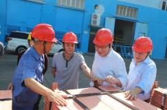 """中条山集团总工程师许新强到垣曲冶炼厂检查指导""""质量月""""活动开展情况"""