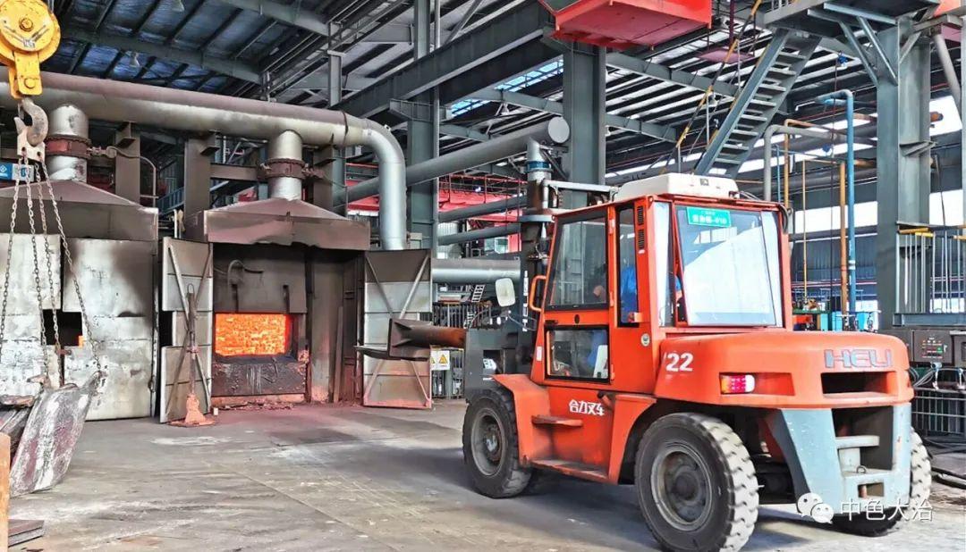中色大冶冶煉廠通過問題整改優化紫雜銅豎爐生產