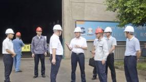 来宾市代市长廖和明到华锡集团来冶公司调研