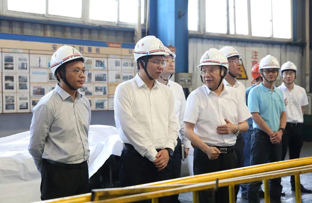 常熟市委副書記、代市長秦猛到江蘇常鋁鋁業視察調研